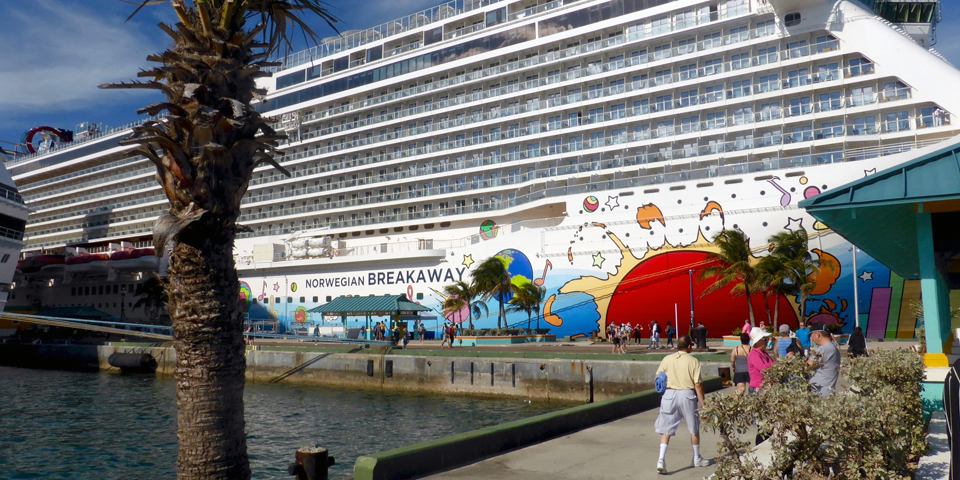 NCL's Breakaway in Nassau, Bahamas