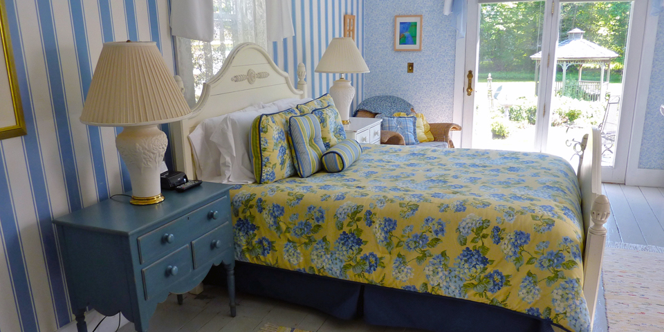 Island Cottage room, Limerock Inn, Rockport, Maine