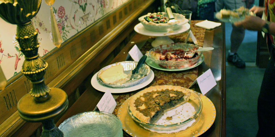 pies, Berry Manor Inn, Rockland, Maine