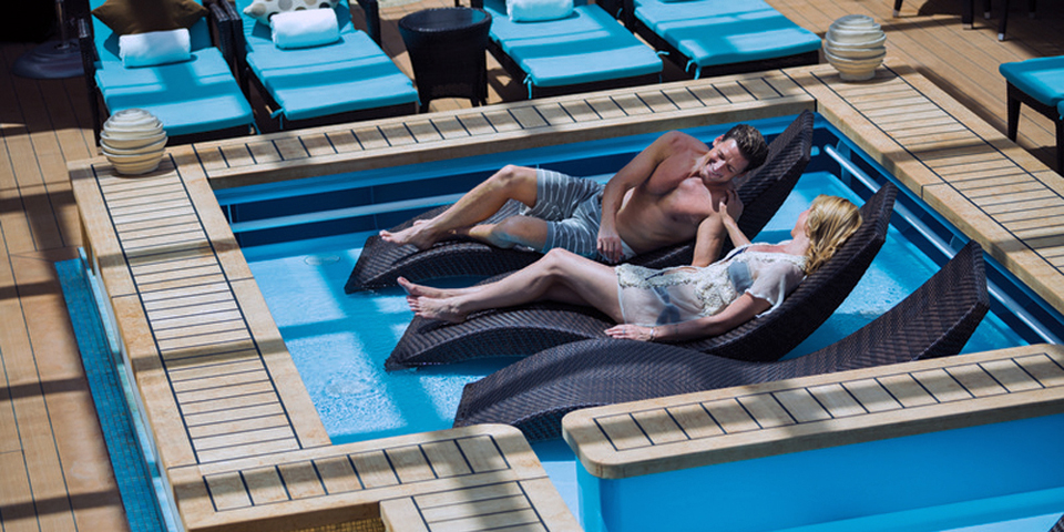 NCL Breakaway Haven Pool, photo courtesy Norwegian Cruise Line