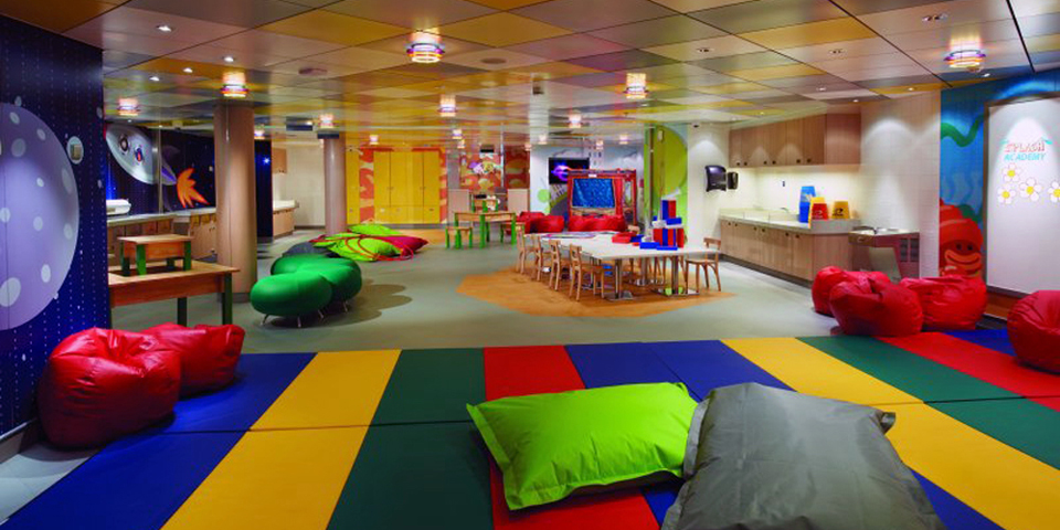 NCL Breakaway Splash Academy, photo courtesy Norwegian Cruise Line