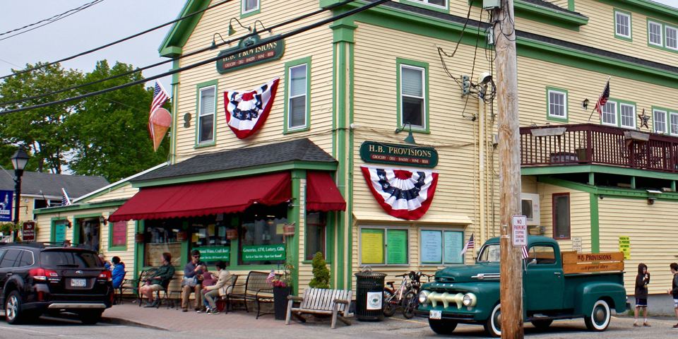 H. B. Provisions, Kennebunkport, Maine