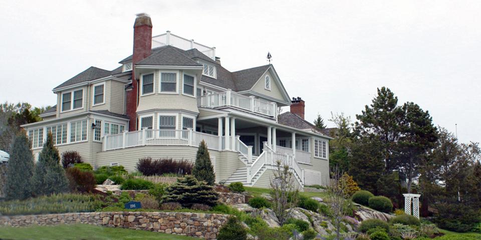 Ocean Avenue mansion. Kennebunkport. Maine
