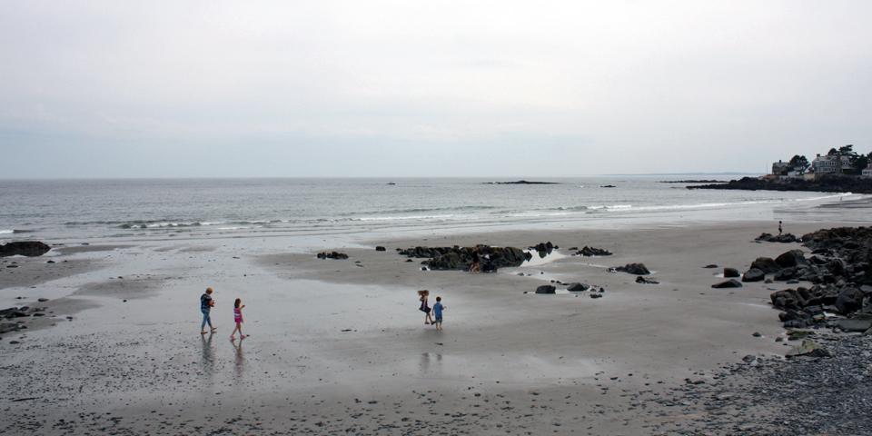 beach, Kennebunkport, Maine