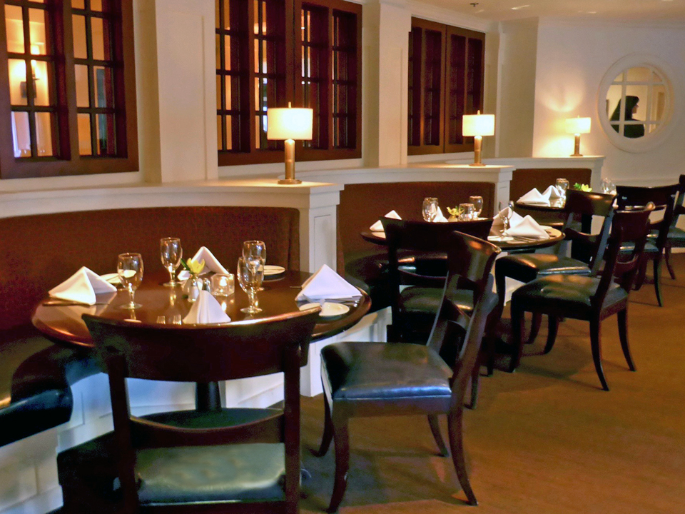 BlueFin Restaurant, Portland Harbor Hotel, Portland, Maine