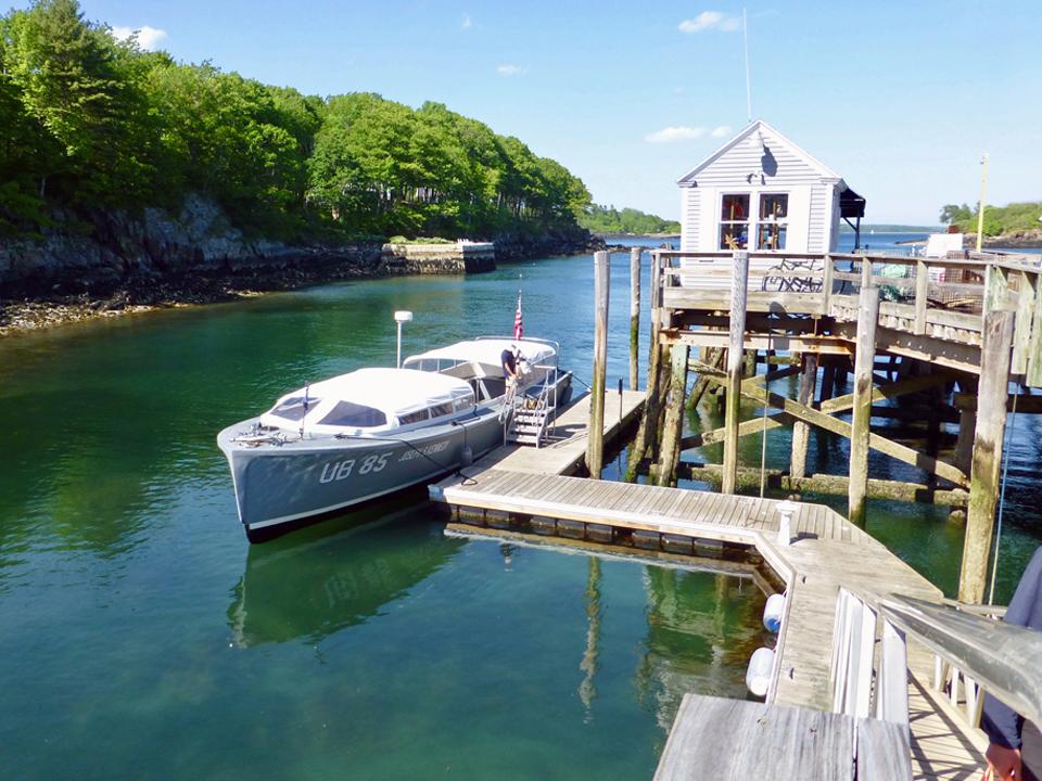UB85 boat, Great Diamond Island, Portland, Maine