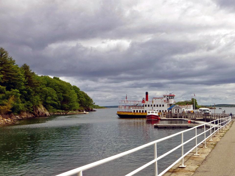 Casco Bay Islands Ferry at Great Diamond Island, Portland, Maine