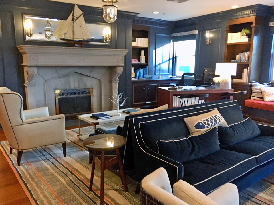lobby, Portland Harbor Hotel, Portland, Maine