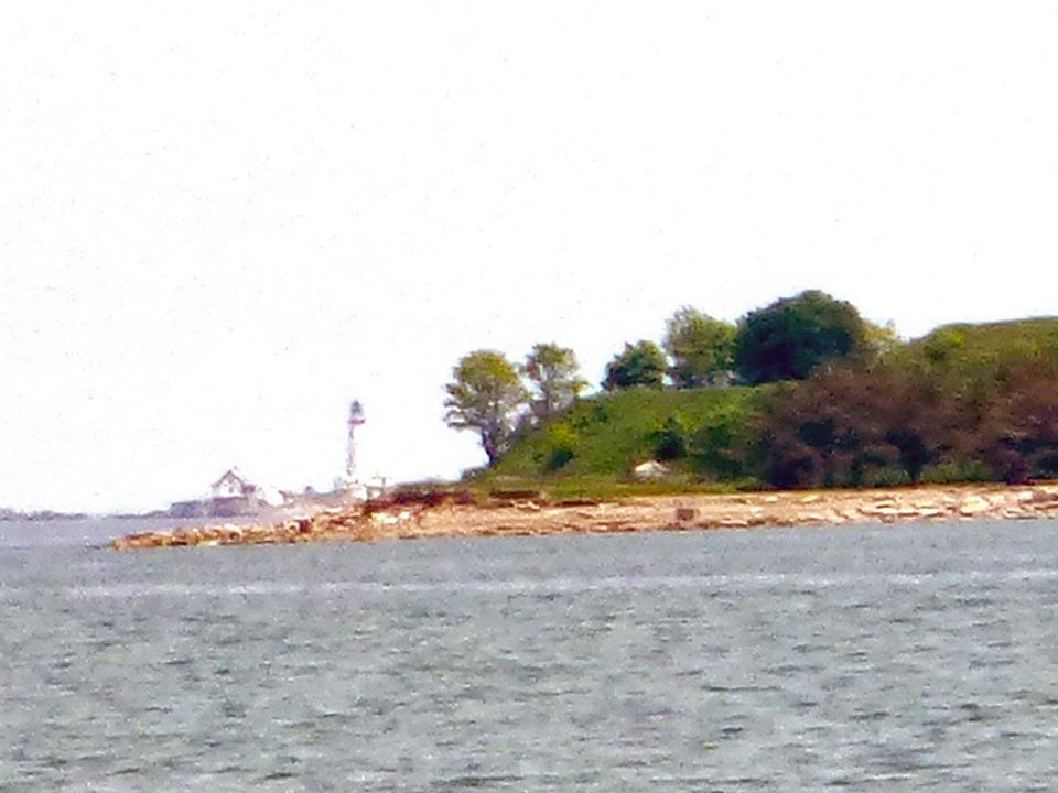 Boston Light, Boston Harbor, Massachusetts