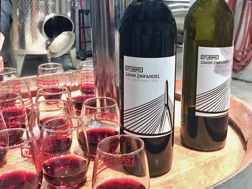 wine tasting, City Winery, Boston, Massachusett