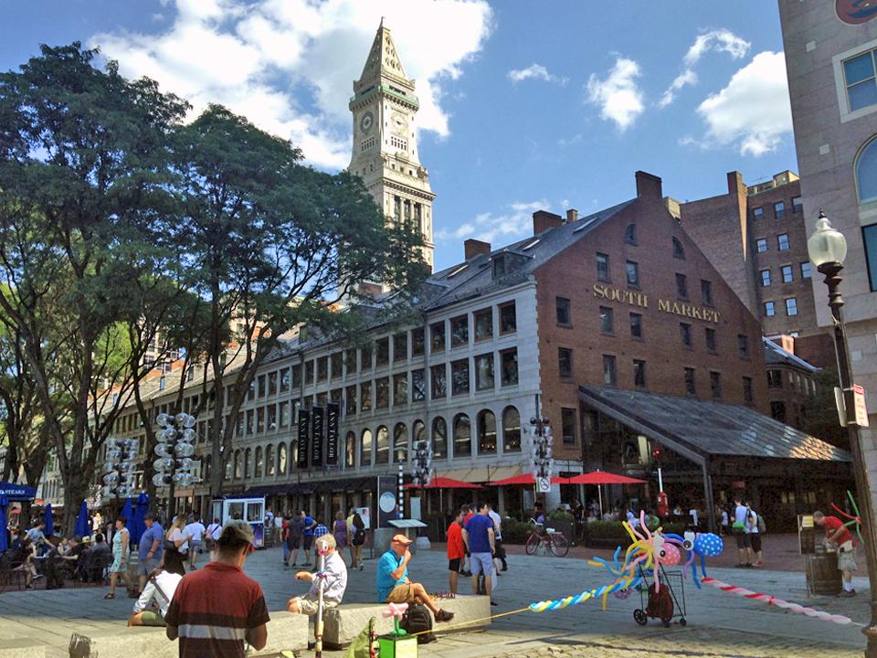 Faneuil Hallarea, Boston, Massachusetts