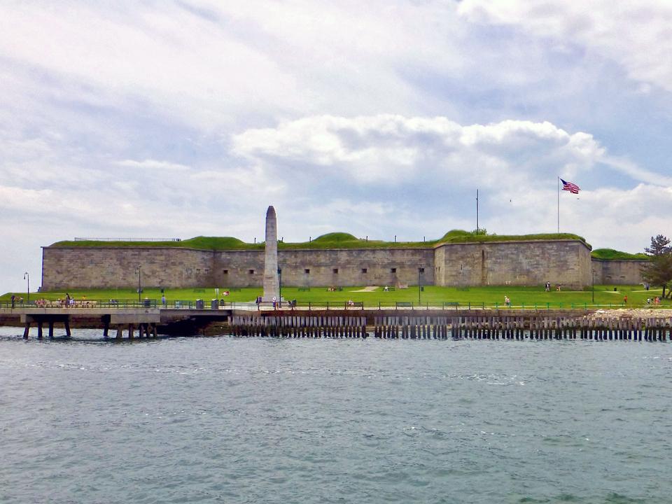 Fort Indepencence, Boston Harbor, Massachusetts