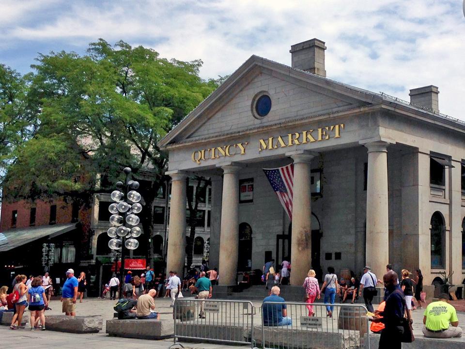 Quincy Market, Boston, Massachusetts
