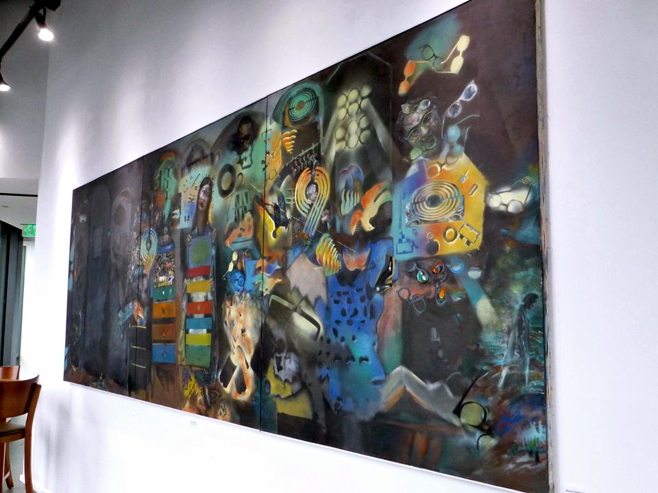 art gallery, City Winery, Boston, Massachusetts
