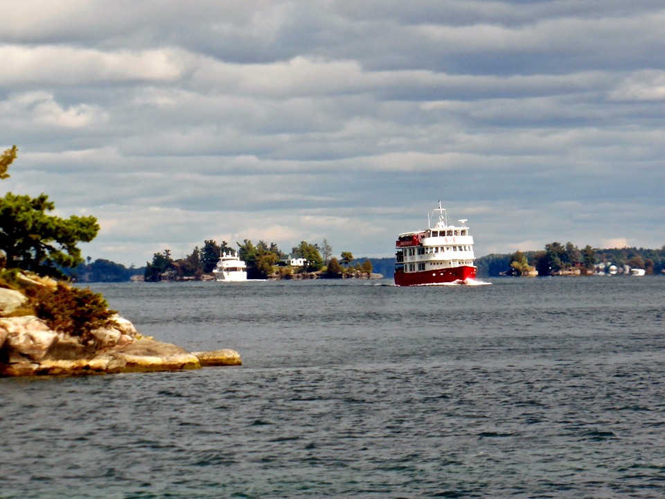 St. 1000 Islands, St. Lawrence River, New York
