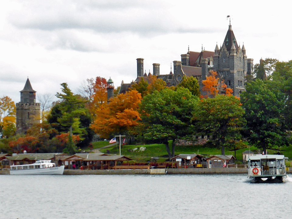 Boldt Castle, 1000 Islands, New York