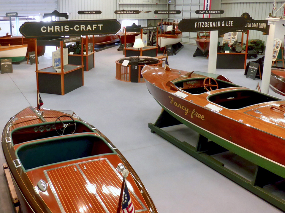 Antique Boat Museum, Clayton, New York