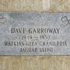 Dave Garroway plaque, Watkins Glen, NY