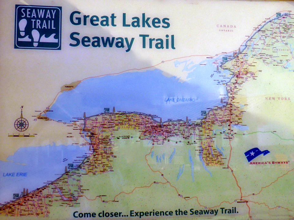 The Great Lakes Seaway Trail, New York
