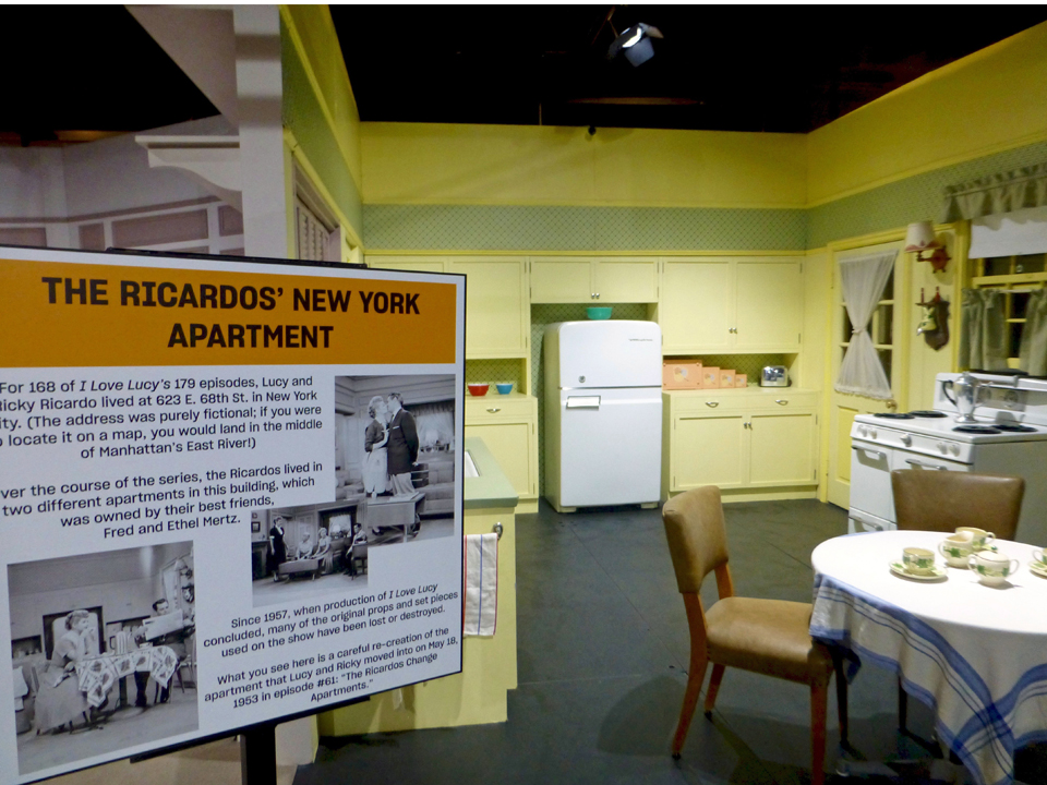 """I Love Lucy"" kitchen, Lucy and Desi, Lucille Ball Desi Arnaz Museum"