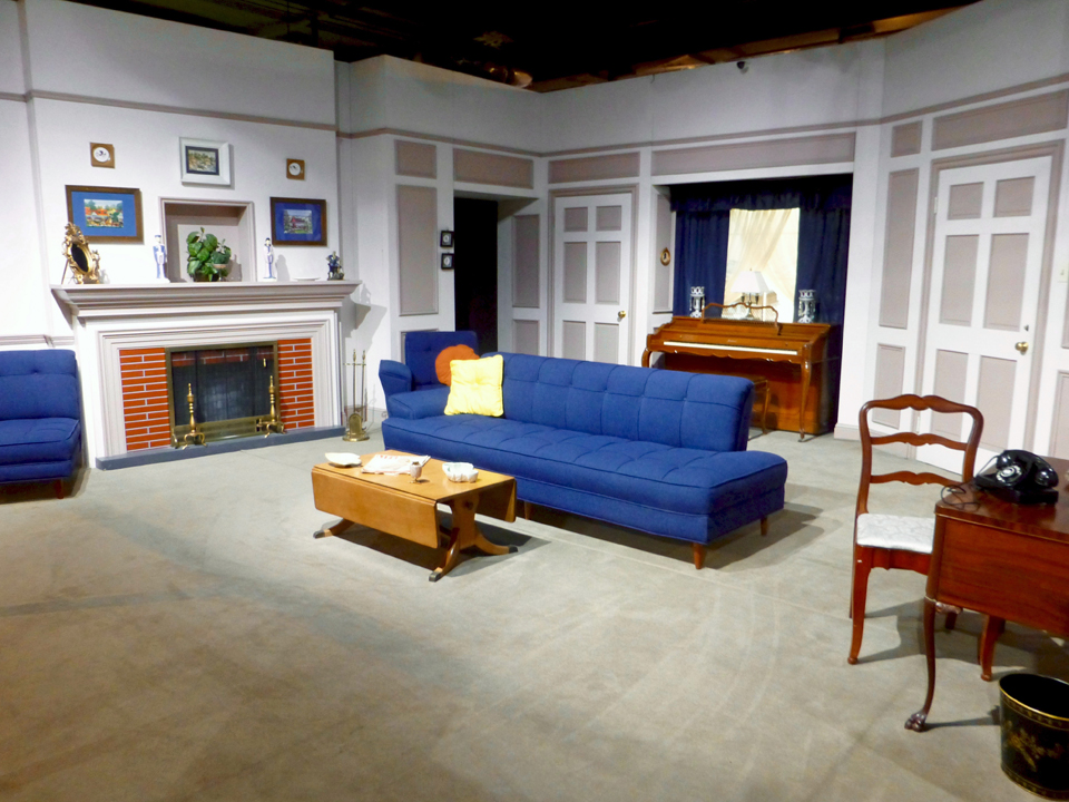 """I Love Lucy"" living room, Lucille Ball Desi Arnaz Museum"