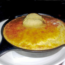 Corn Bread with maple butter, Forge & Vine, Groton Inn, Groton Inn, Groton, Massachusetts