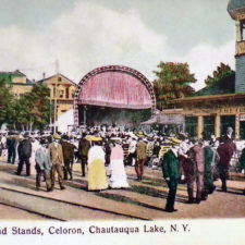 The Band Stands, Celoron Park, NY