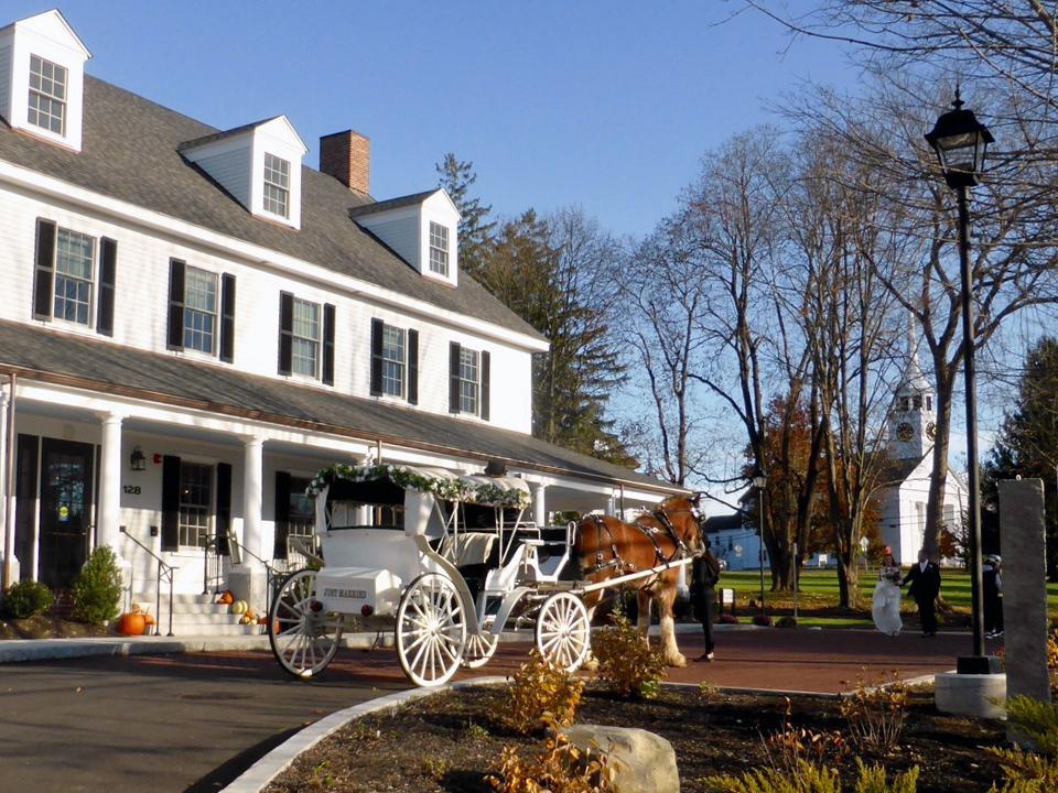 The Groton Inn and First Parish Church, Groton, Massachusetts