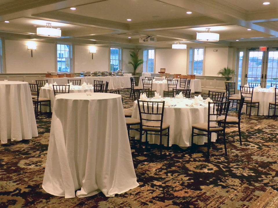 banquet room, Groton Inn, Groton, Massachusetts