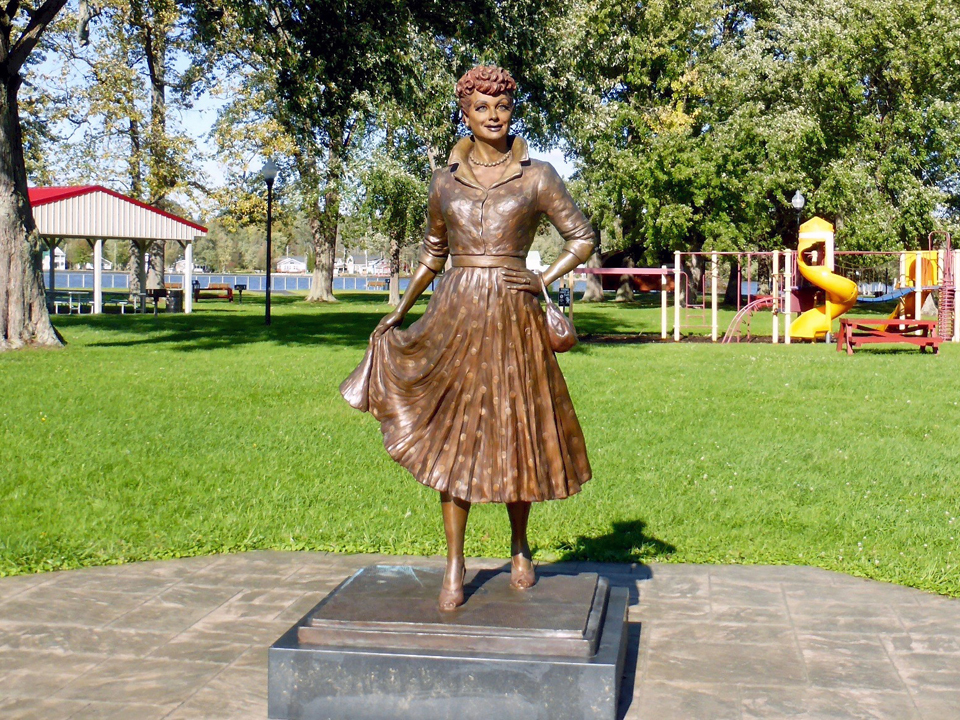 Lucille Ball Memorial Park, Celoron, New York