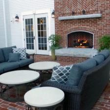 courtyard by day, Groton Inn, Groton, Massachusetts