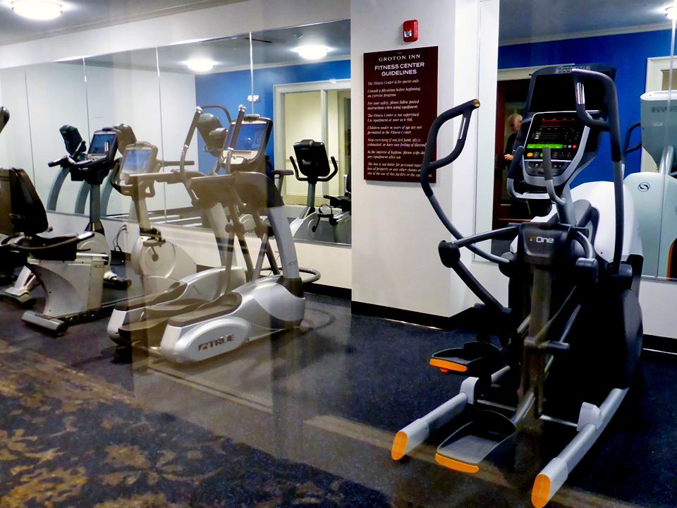 fitness center, Groton Inn, Groton, Massachusetts
