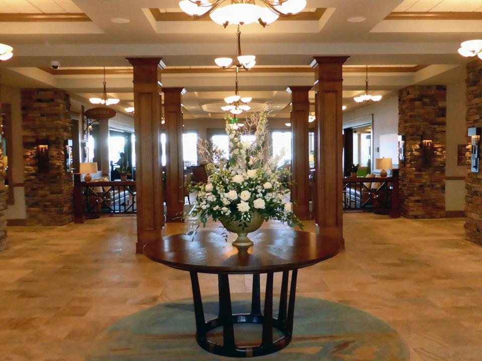 lobby area, Chautauqua Harbor Hotel, Celoron, NY