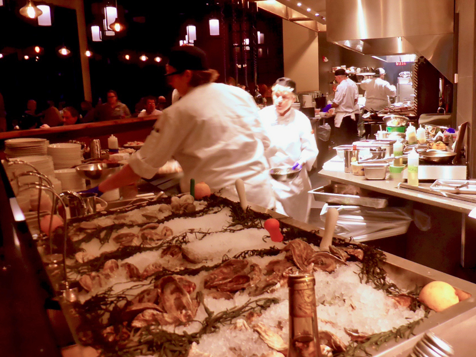 raw bar, Forge & Vine, Groton Inn, Groton, MA