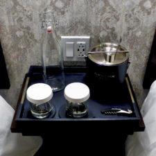 water bottle, guest room, Groton Inn, Groton, Massachusetts