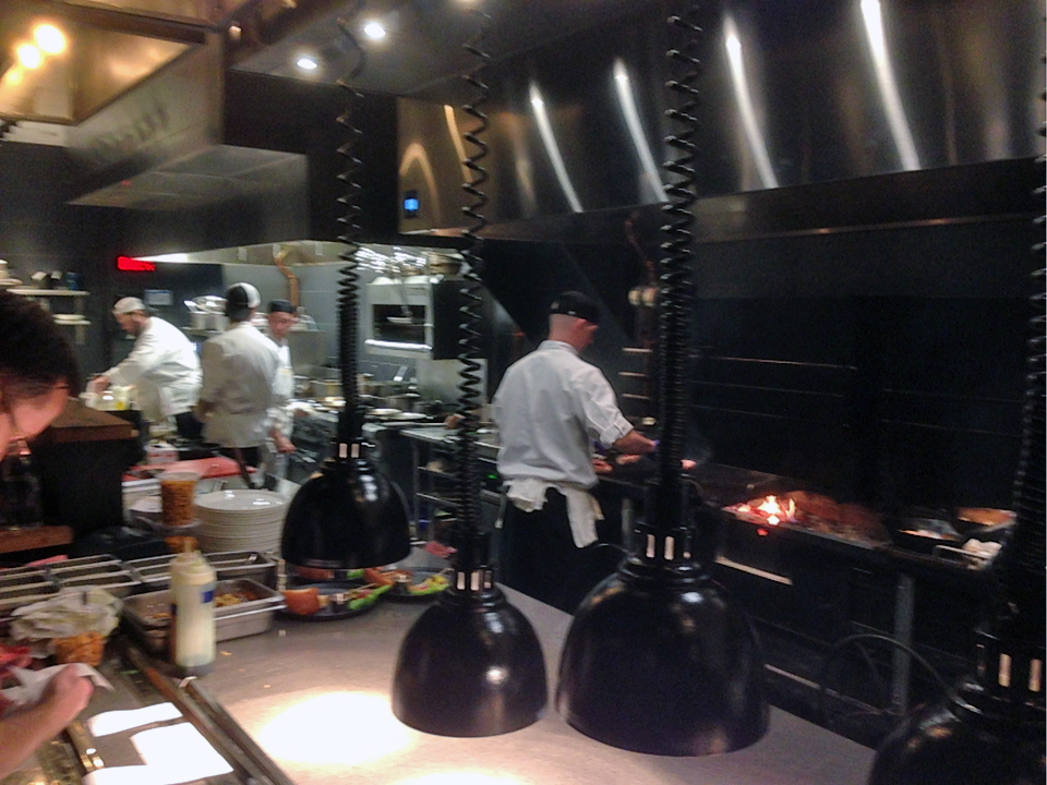 wood fired grill, Forge & Vine, Groton Inn, Groton, Massachusetts