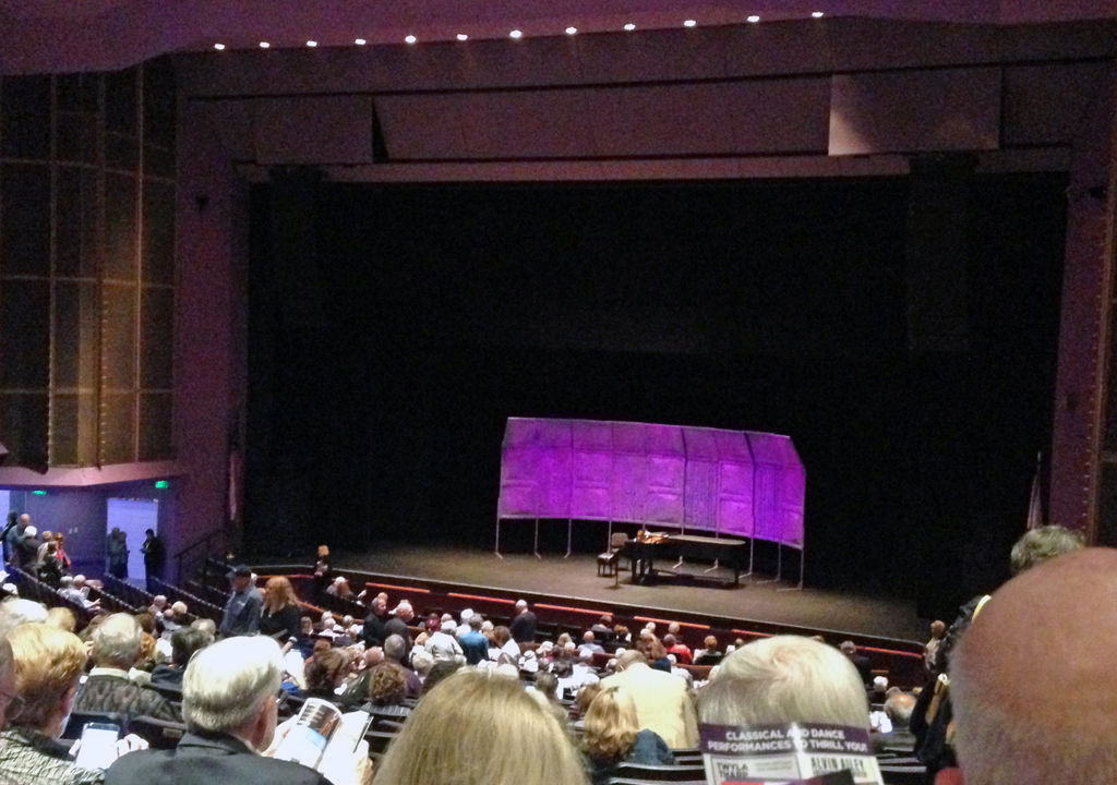 The Van Wezel Preforming Arts Hall, Sarasota, Florida