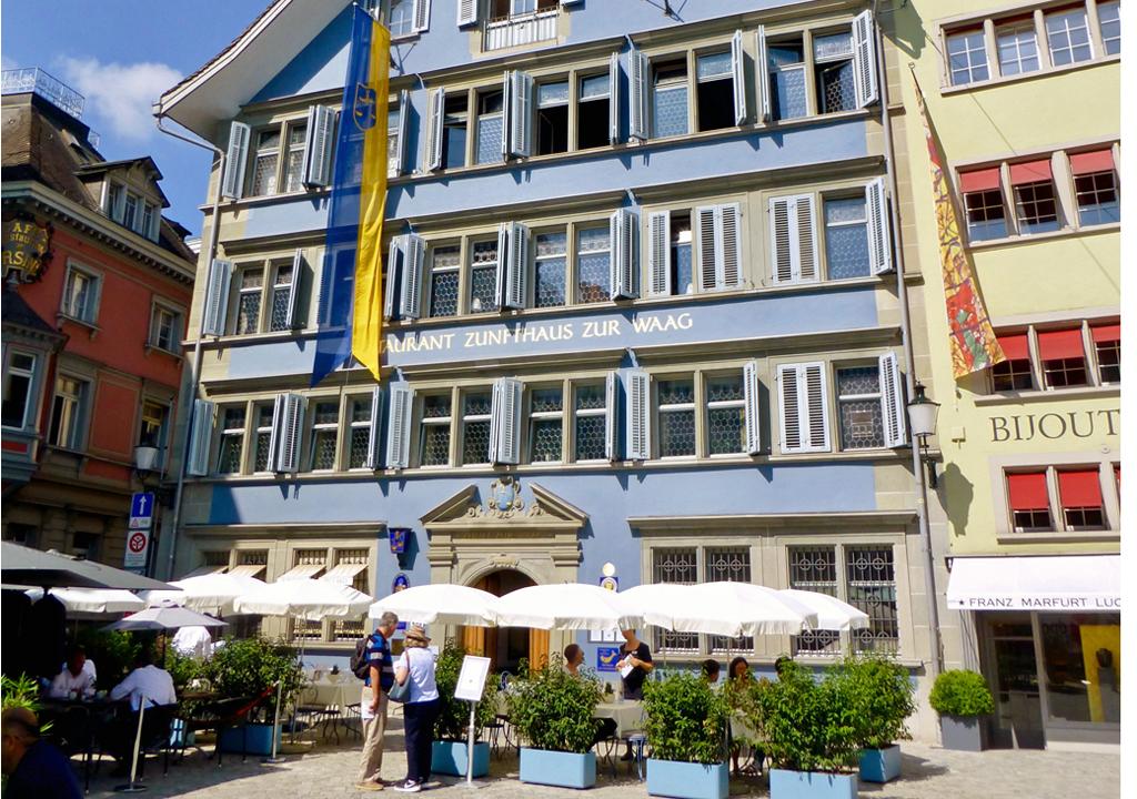 Zunfthaus zur Waag, Zürich, Switzerland