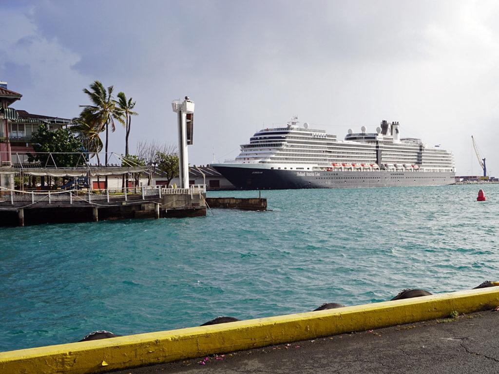 Eurodam docked in Honolulu, Hawaii