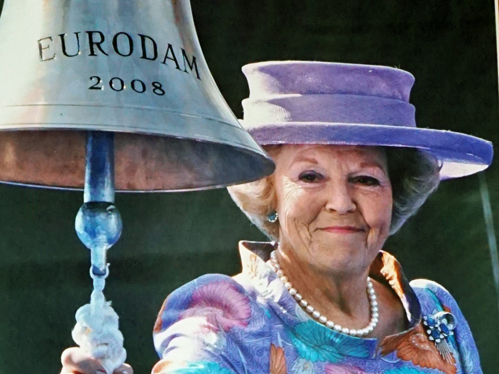 Her Majesty Queen Beatrix of the Netherlands officially named the Eurodam.