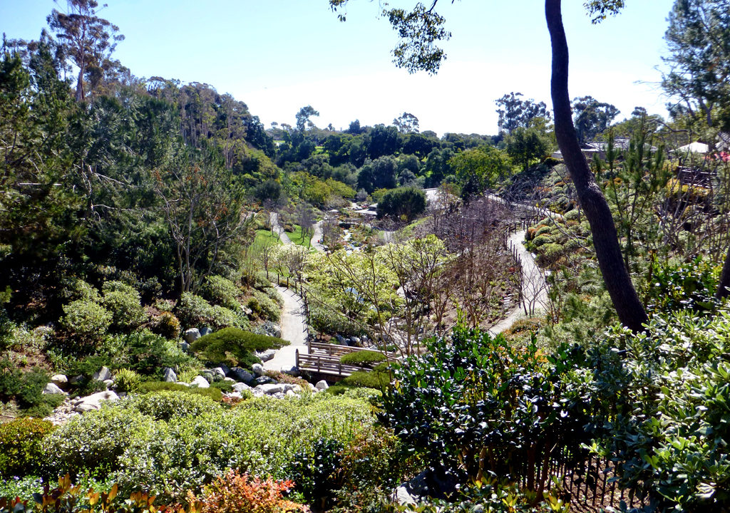 Japanese Friendship Garden, Balboa Park, San Diego, California