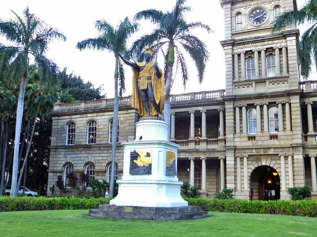 King Kamehameha statue, Honolulu, Hawaii