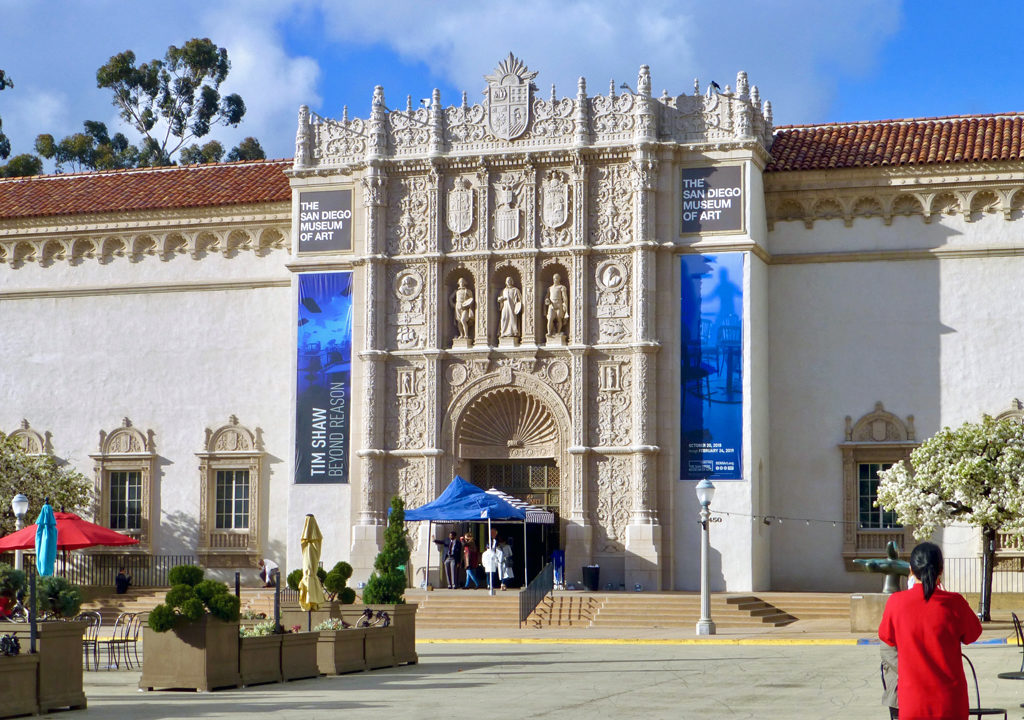 Museum of Art, Balboa Park, San Diego, California