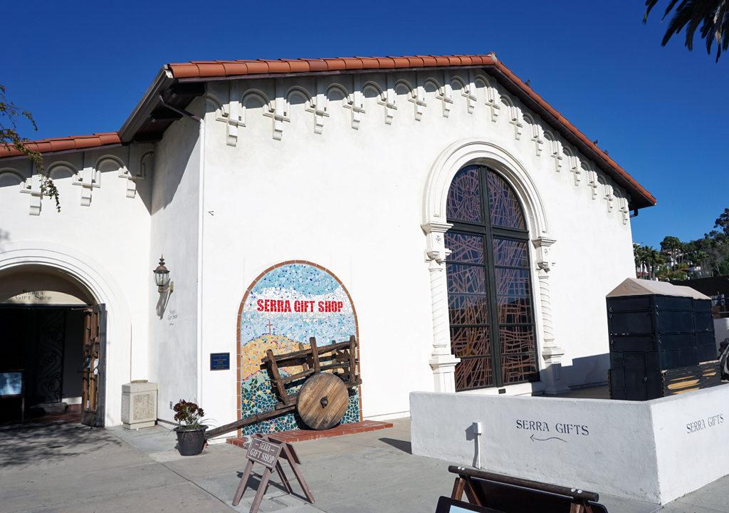 Serra Gift Shop. Old Town, San Diego