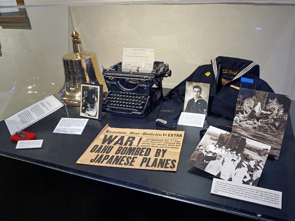 display at Pearl Harbor, Honolulu