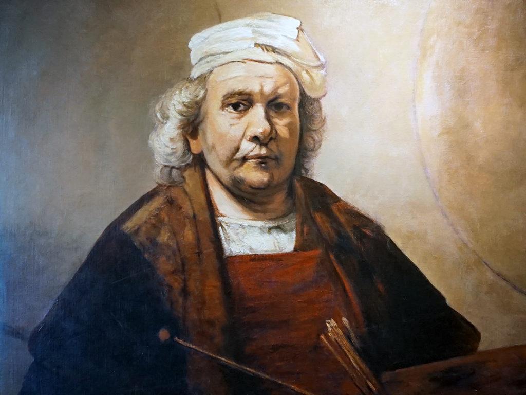 Rembrandt portrait reproduction, Eurodam