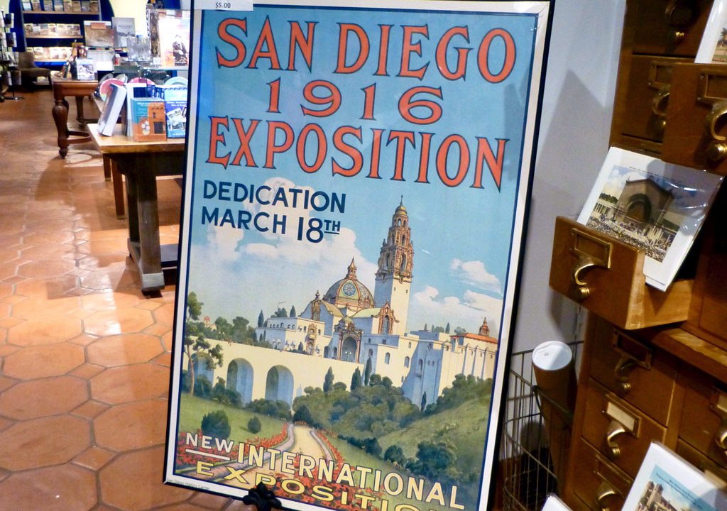 San Diego Exposition poster