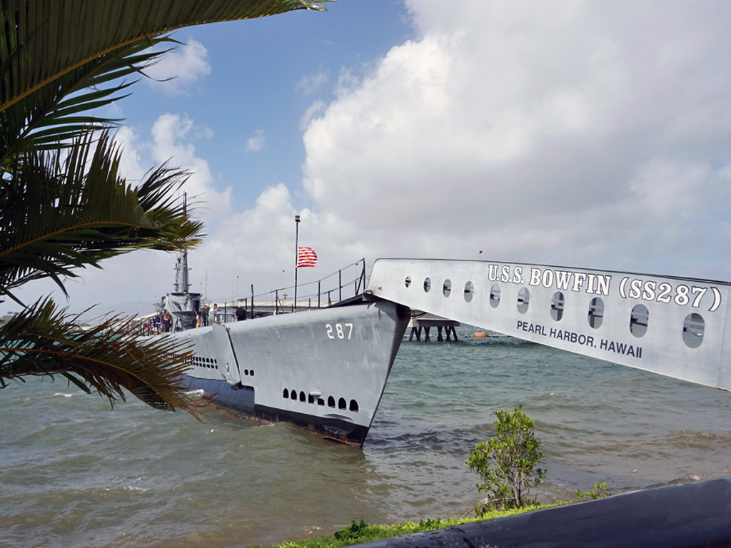 USS Bowfin submarine, Honolulu, Hawaii