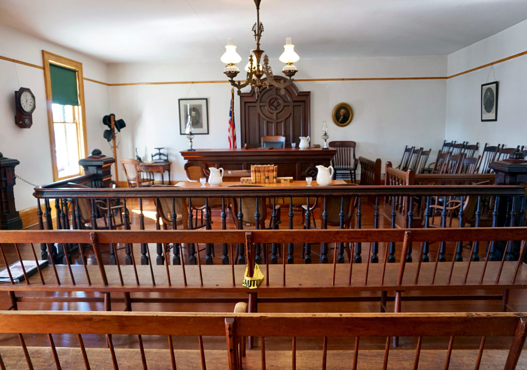Whaley House courthouse, Old Town, San Diego, California