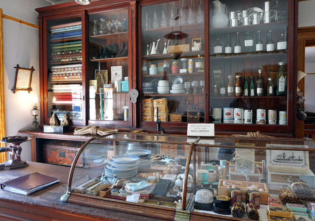 Whaley House store, Old Town, San Diego, California